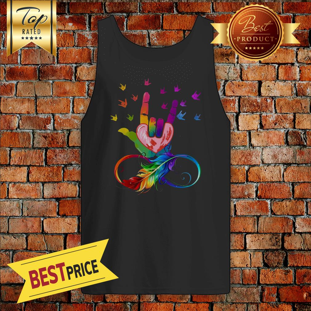 Visual Arts Hands Embrace The Heart Forever Tank Top