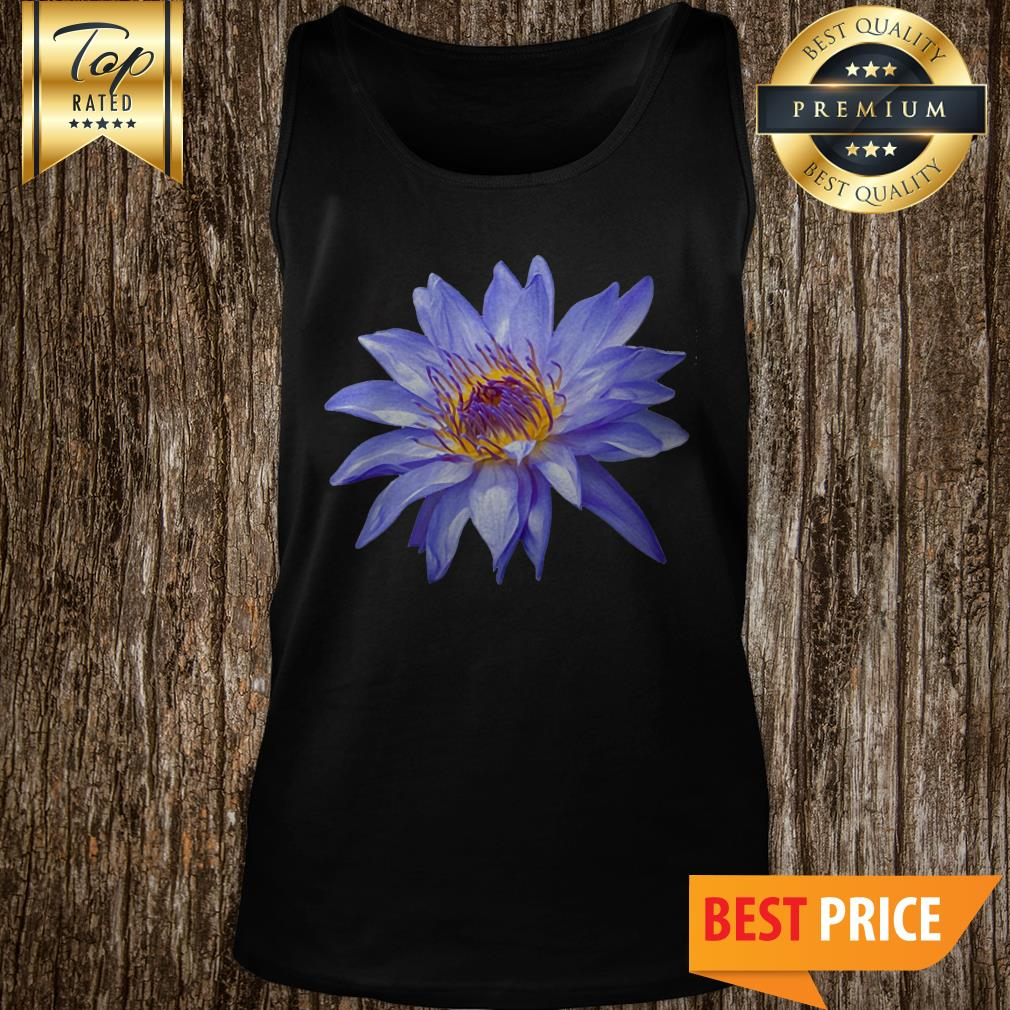 Water Lily Bloom Pillow Flower Tank Top
