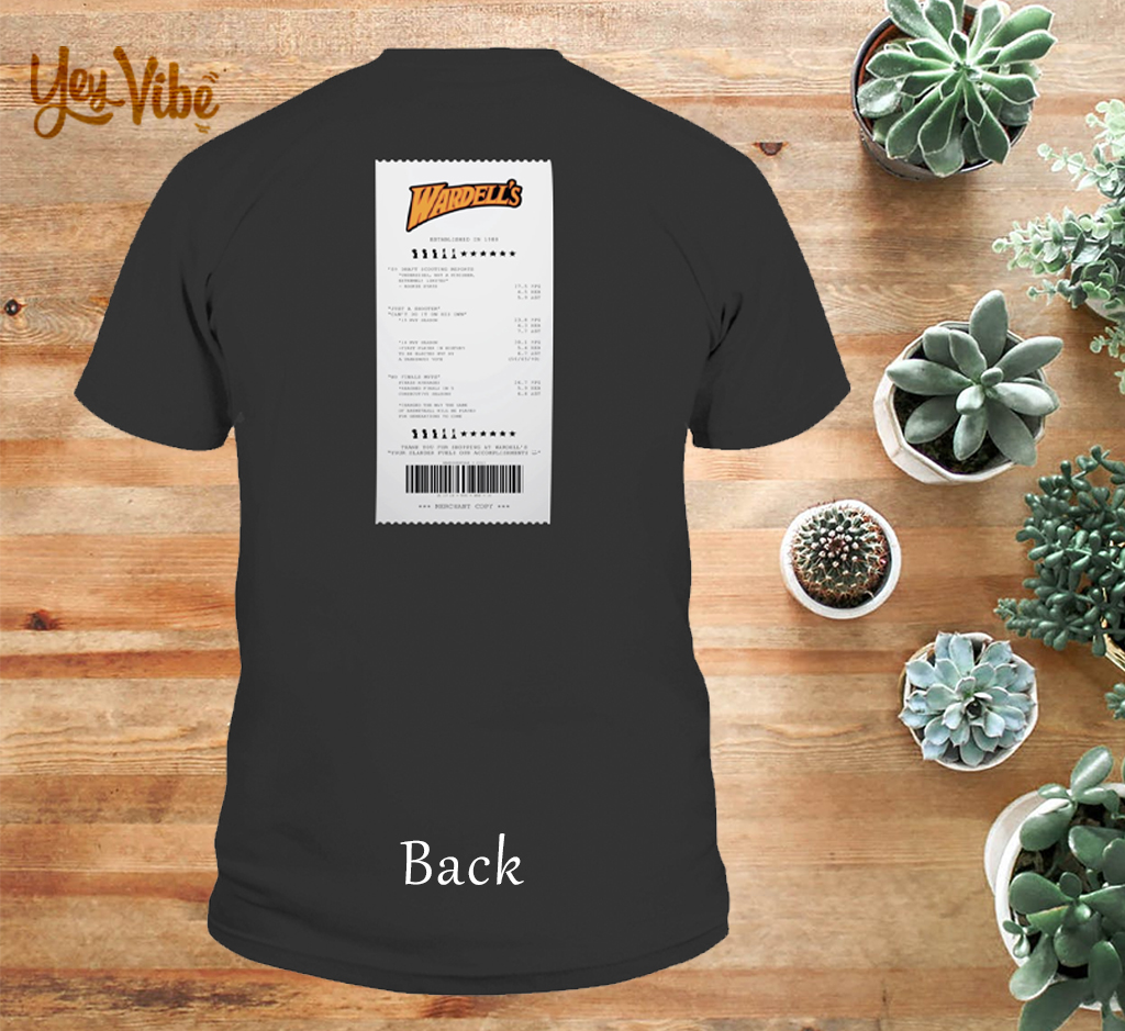 WE KEEP ALL RECEIPTS Back T-SHIRT