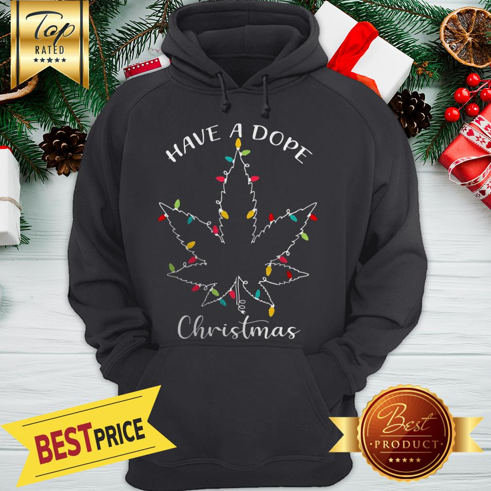 Weed Christmas Lights Have A Dope Christmas Hoodie
