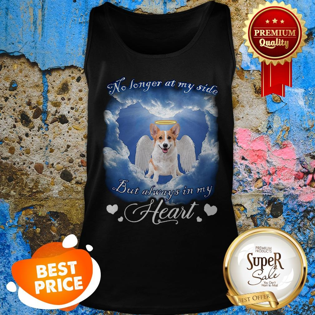 Welsh Corgi Angel No Longer At My Side But Always In My Heart Tank Top