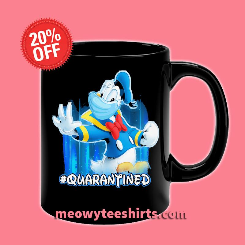 DONALD Duck Quarantined T-s Mug Front