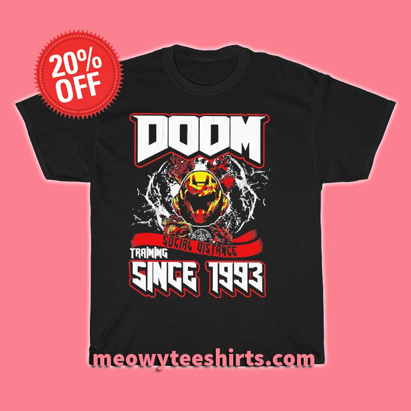Doom Social Distance Training Since 1993 Classic T-Shirt