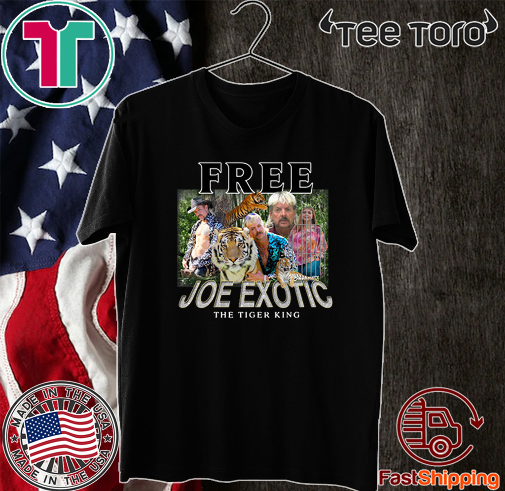 Free Joe Exotic The Tiger King carole baskin 2020 T-Shirt