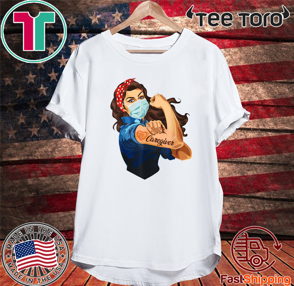 NURSE STRONG TATTOOS BANDANA STRONG WOMAN CAREGIVER COVID-19 FOR T-SHIRT