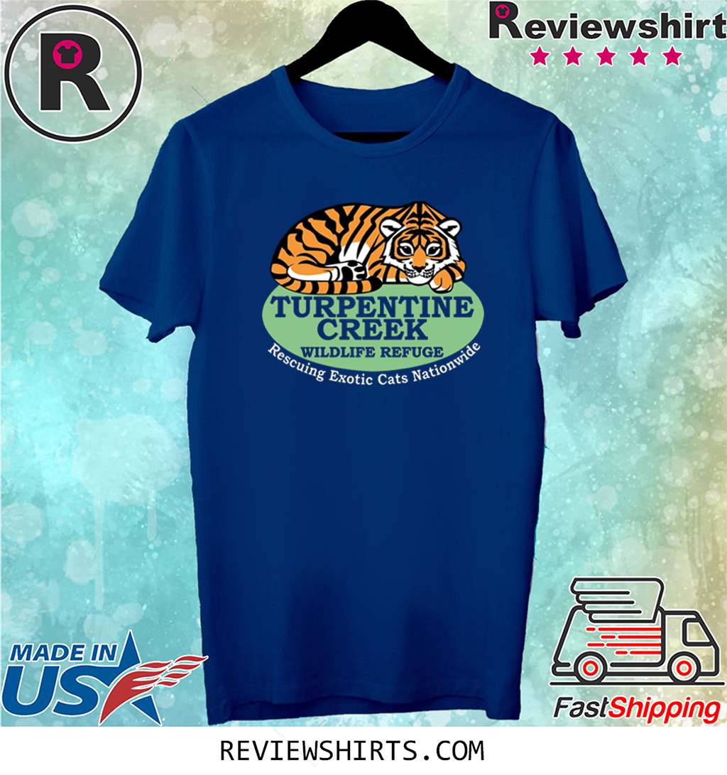 Rescuing Exotic Cats Nationwide 2020 Tee Shirt