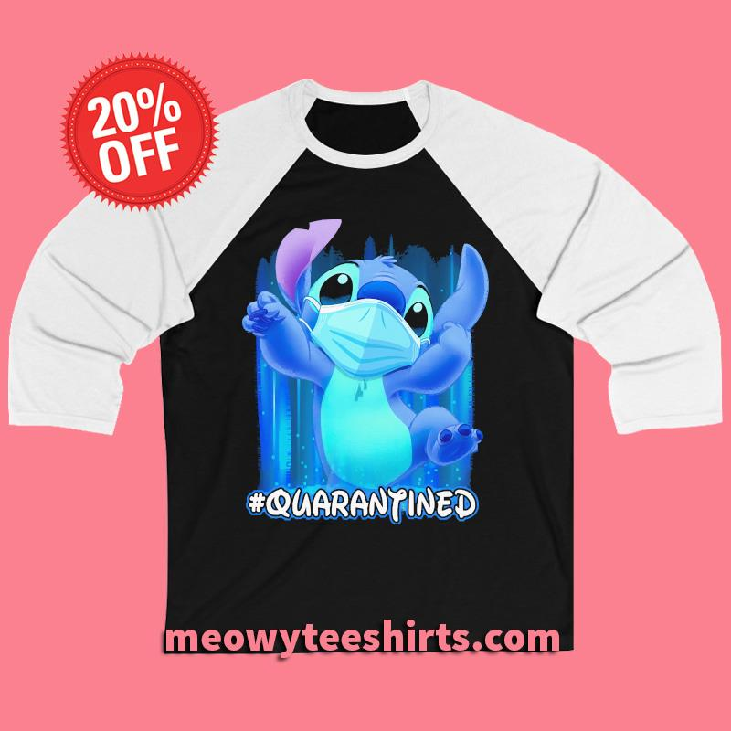 STITCH Quarantined T-s baseball tee