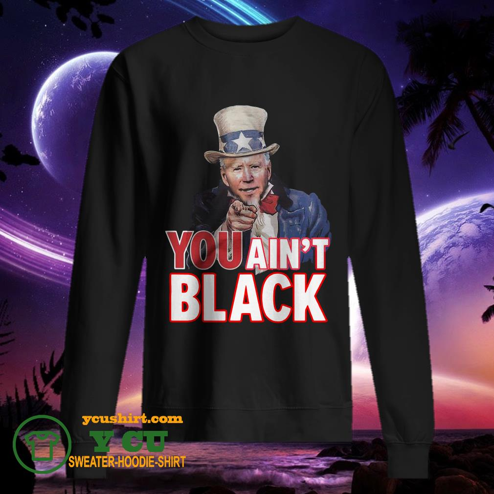 American You Ain't Black sweater
