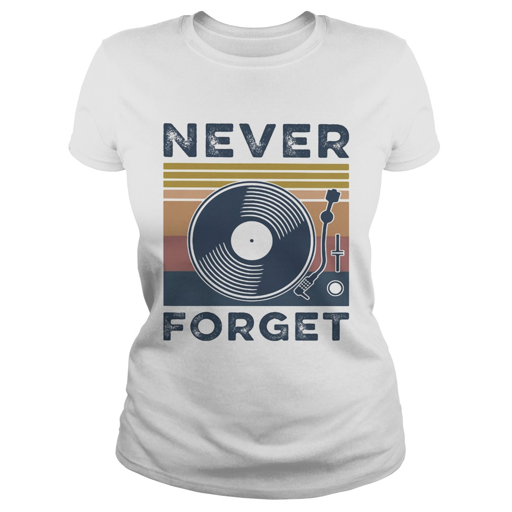 Analog Sound never forget vintage Classic Ladies