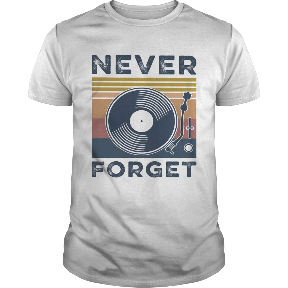 Analog Sound never forget vintage Unisex