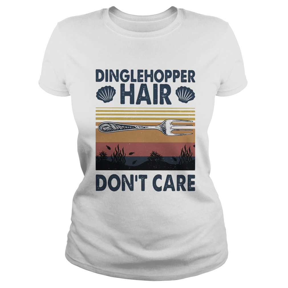 Dinglehopper hair dont care vintage Classic Ladies