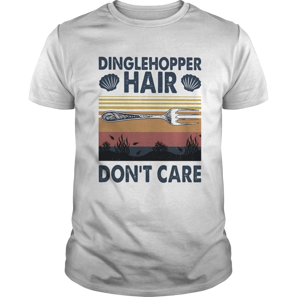 Dinglehopper hair dont care vintage Unisex