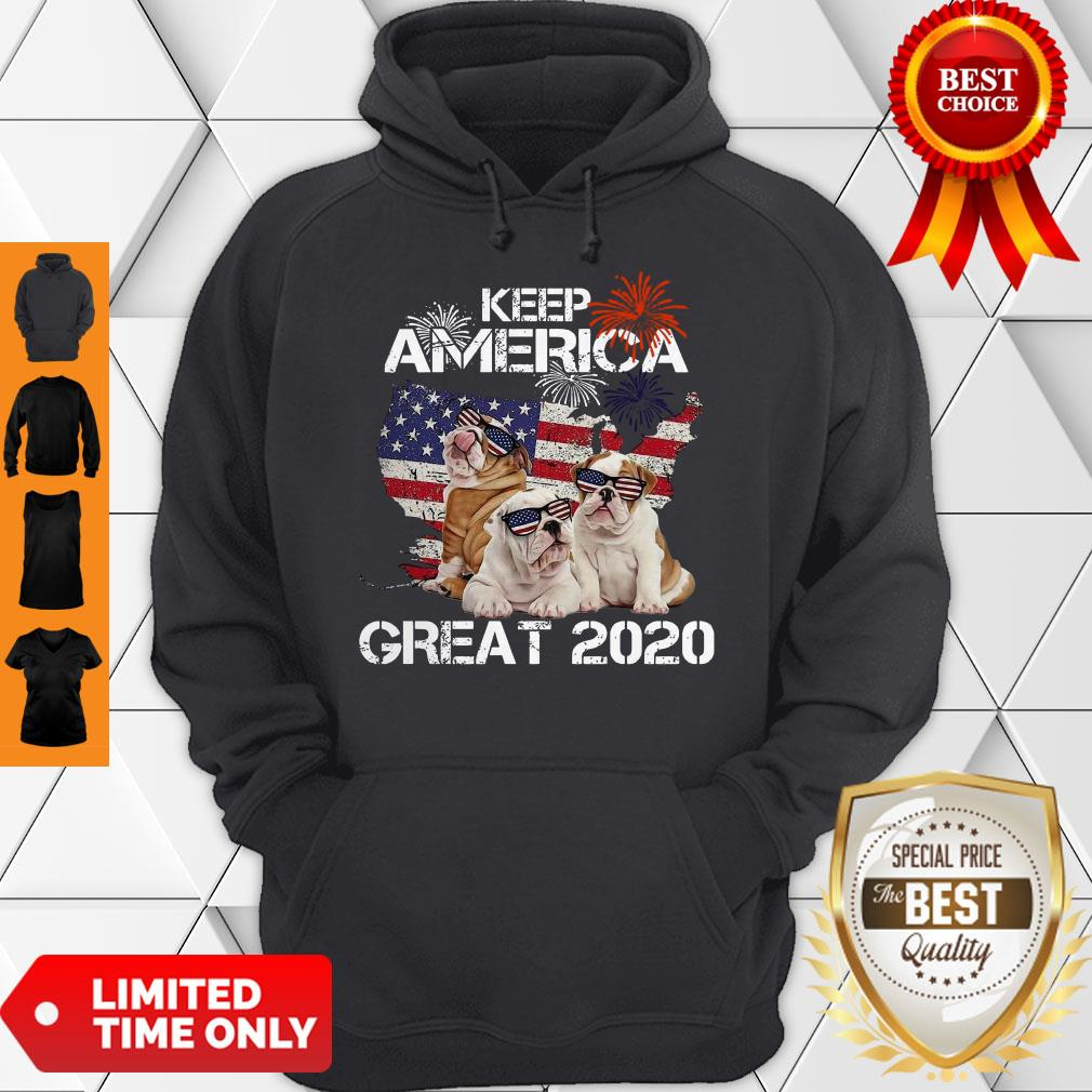 Premium Pitbulls Keep America Great 2020 Hoodie