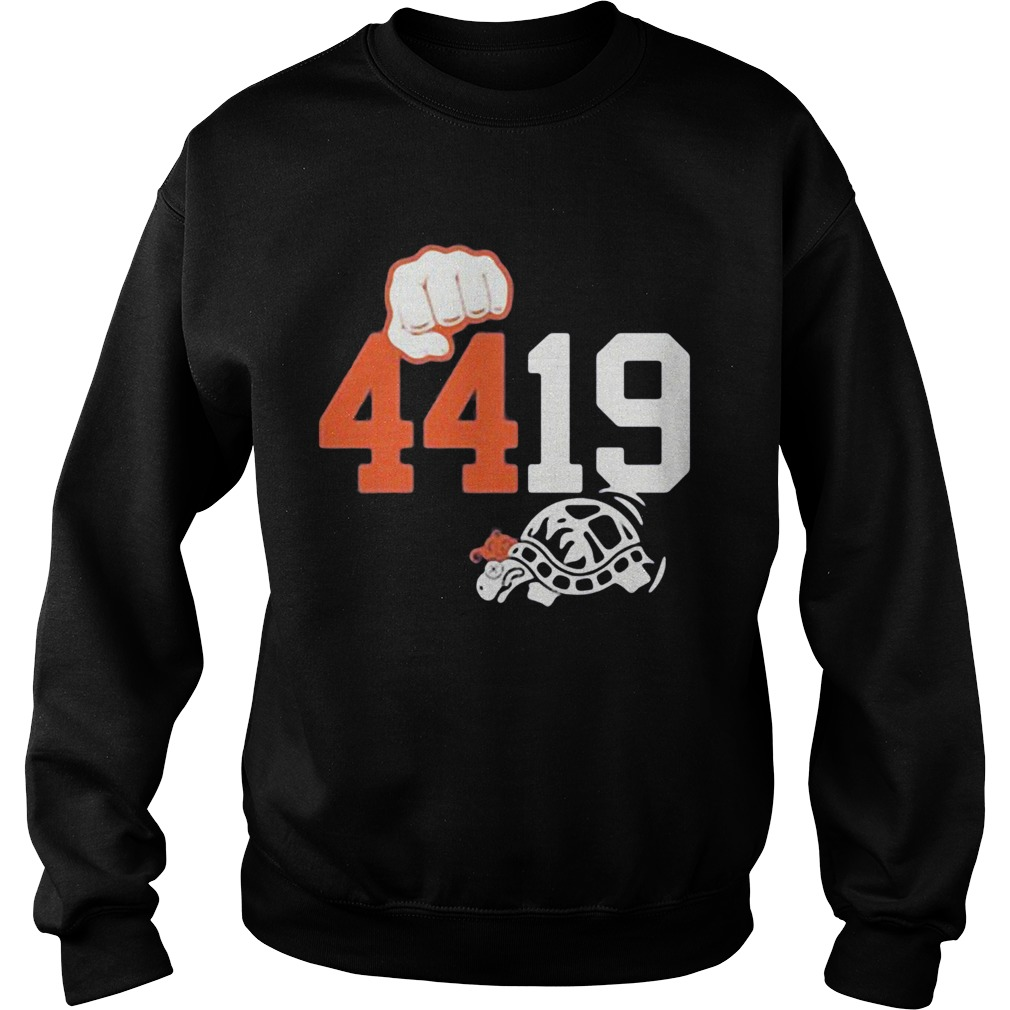4419 shell game triblend turtles  Sweatshirt