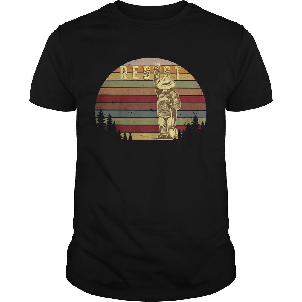 Bigfoot farmer resist vintage retro  Unisex