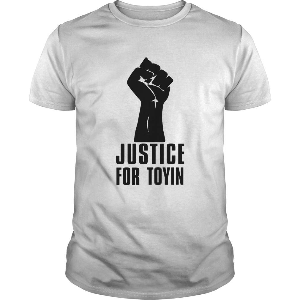 Justice for toyin black lives matter  Unisex