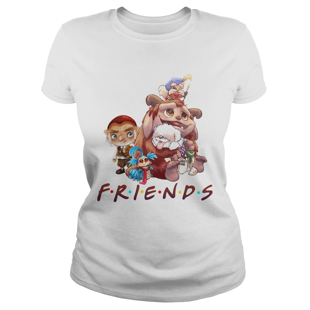Labyrinth Characters Friends Classic Ladies