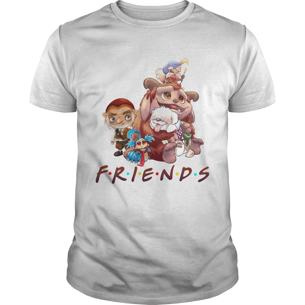 Labyrinth Characters Friends Unisex