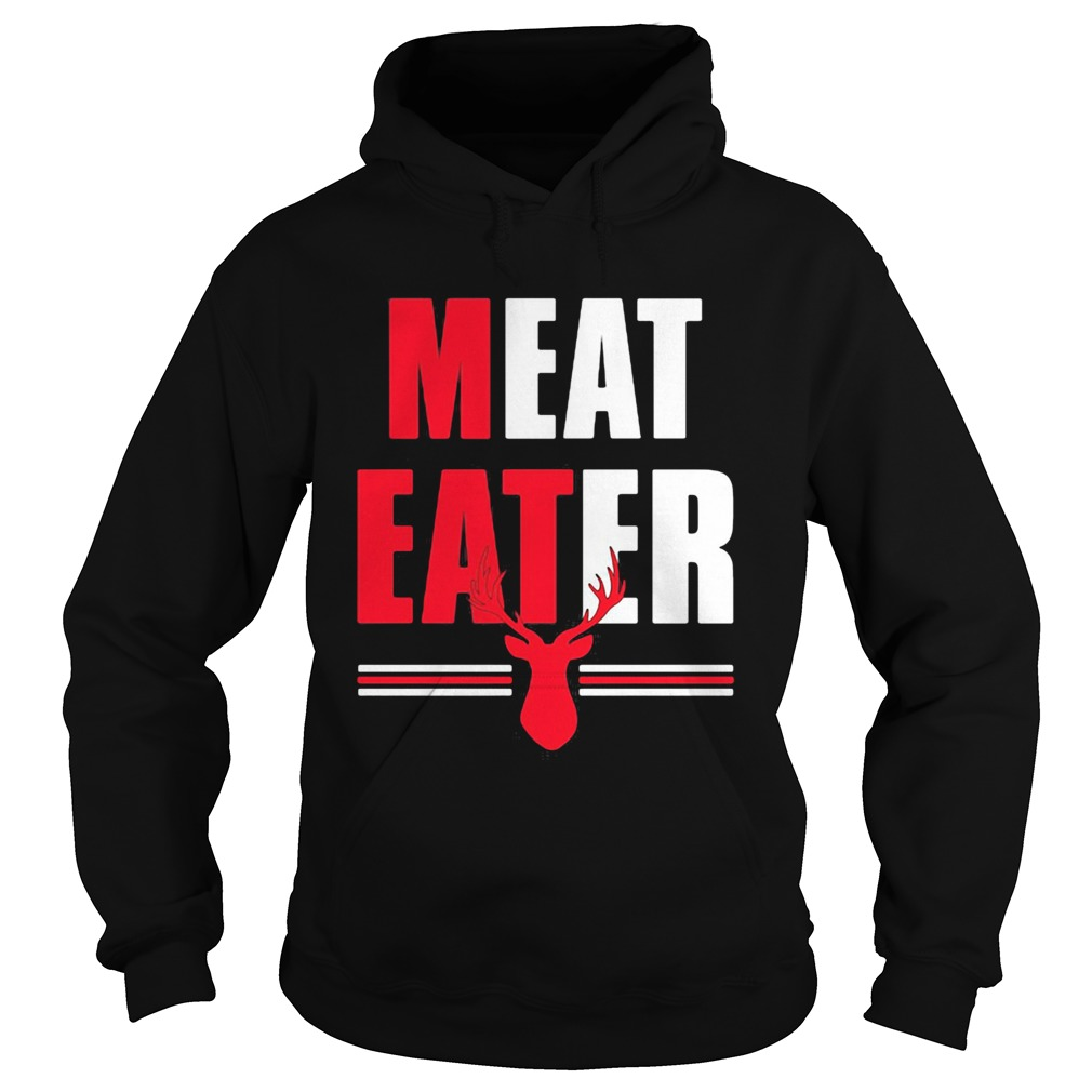 Meat Eater Red White The Alley  Hoodie