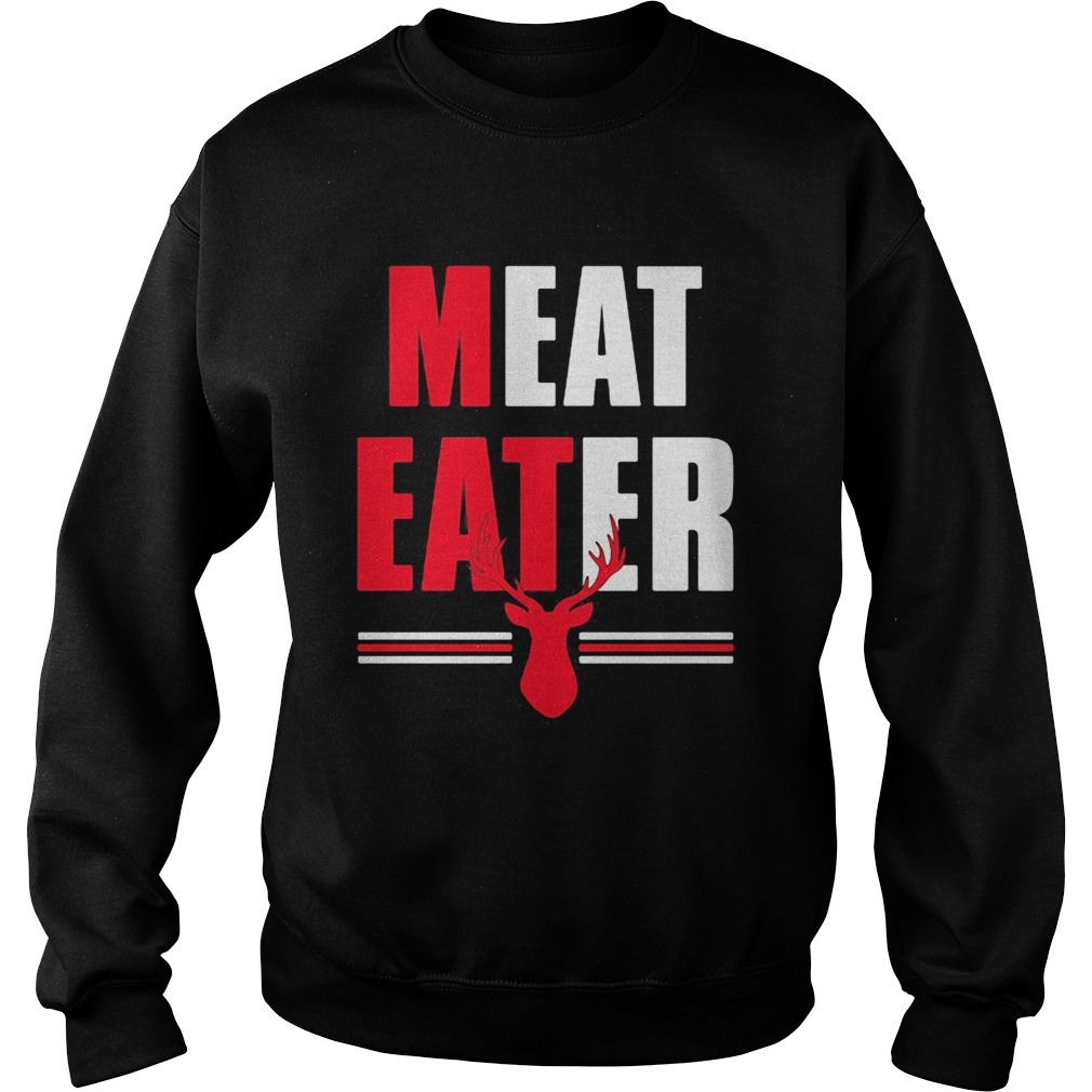 Meat Eater Red White The Alley  Sweatshirt