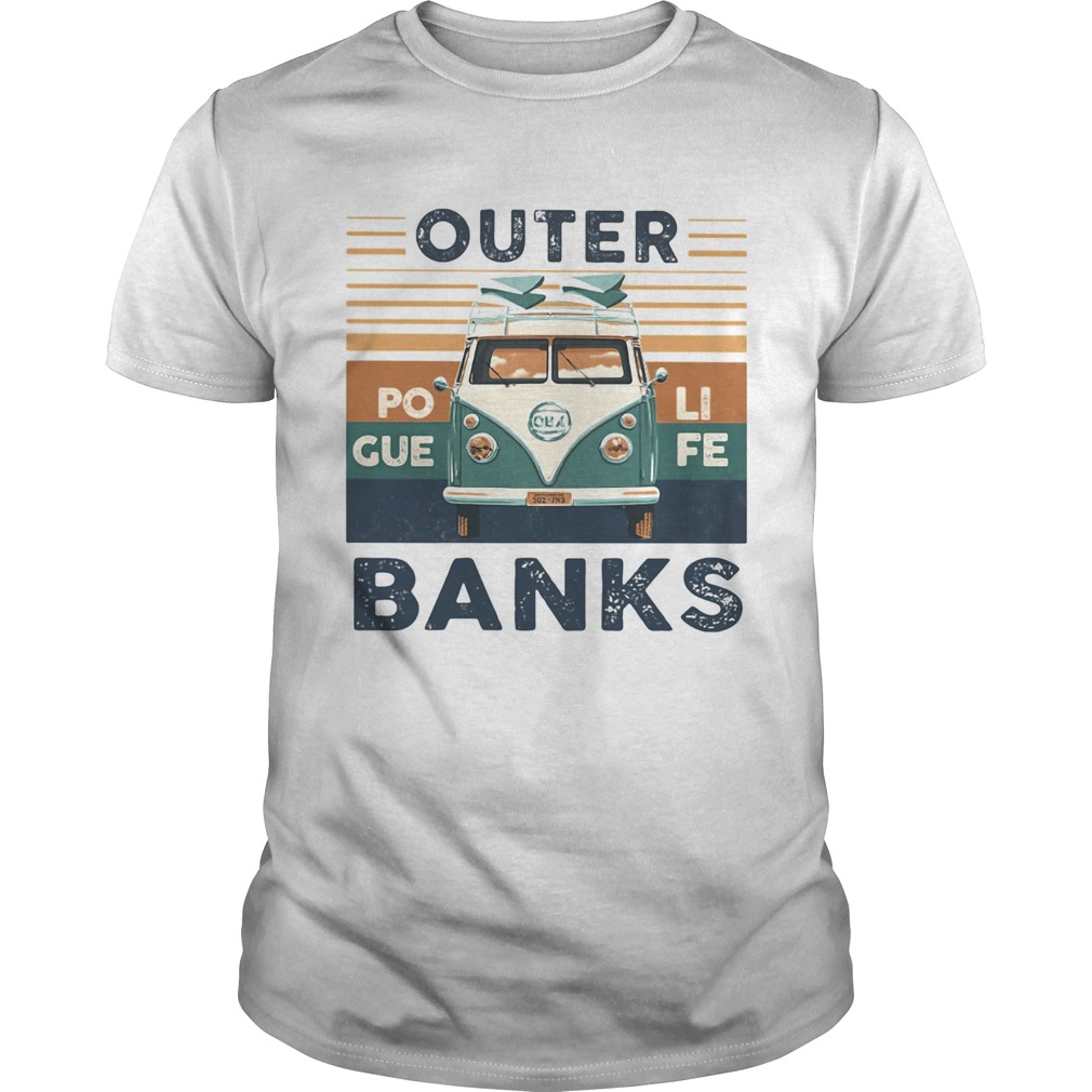 Outer banks poli gue fe vintage retro  Unisex