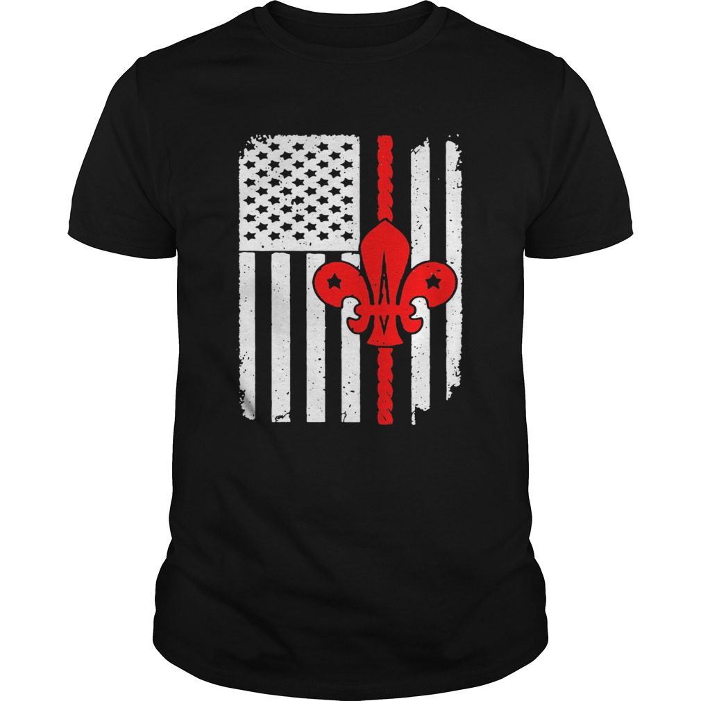 Scouting Scout American Flag Unisex