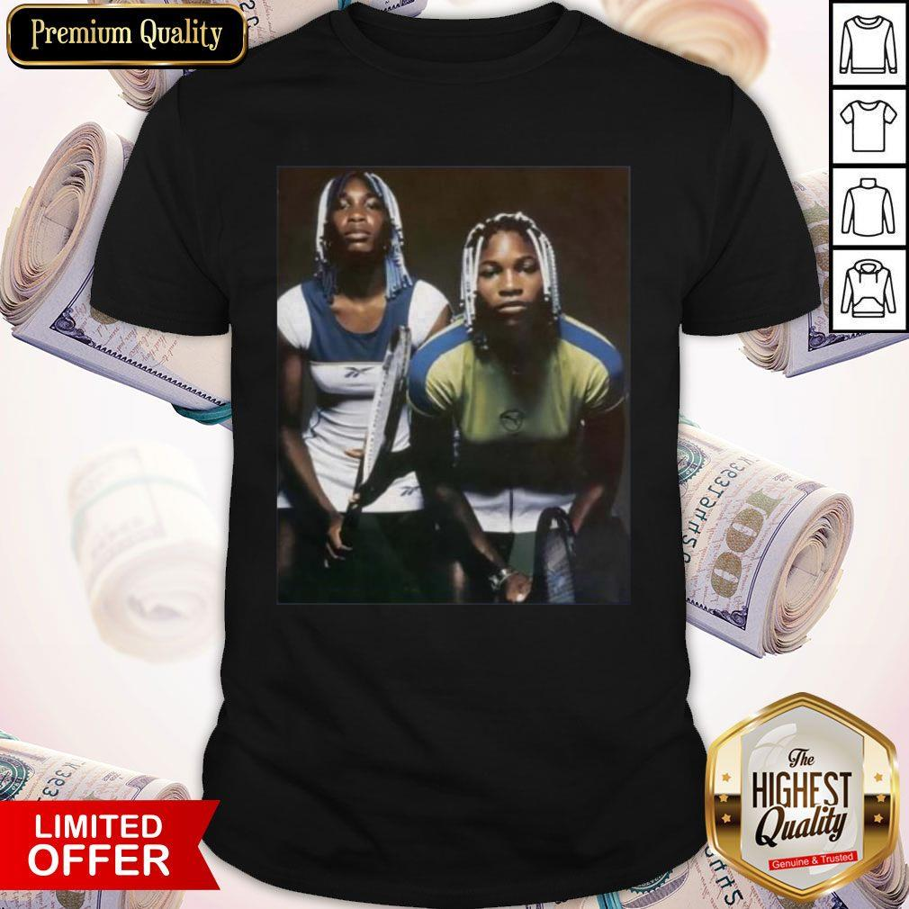 Venus And Serena Williams Tennis Players Shirt