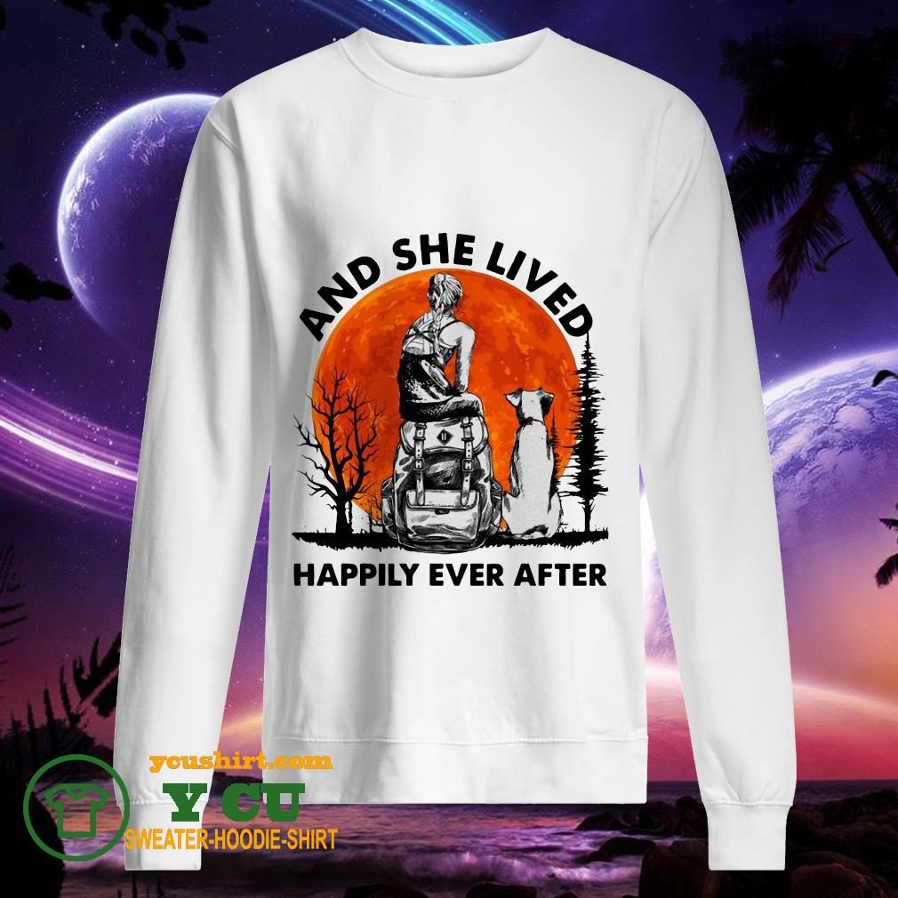 And She Lived Happily Ever After Moon sweater