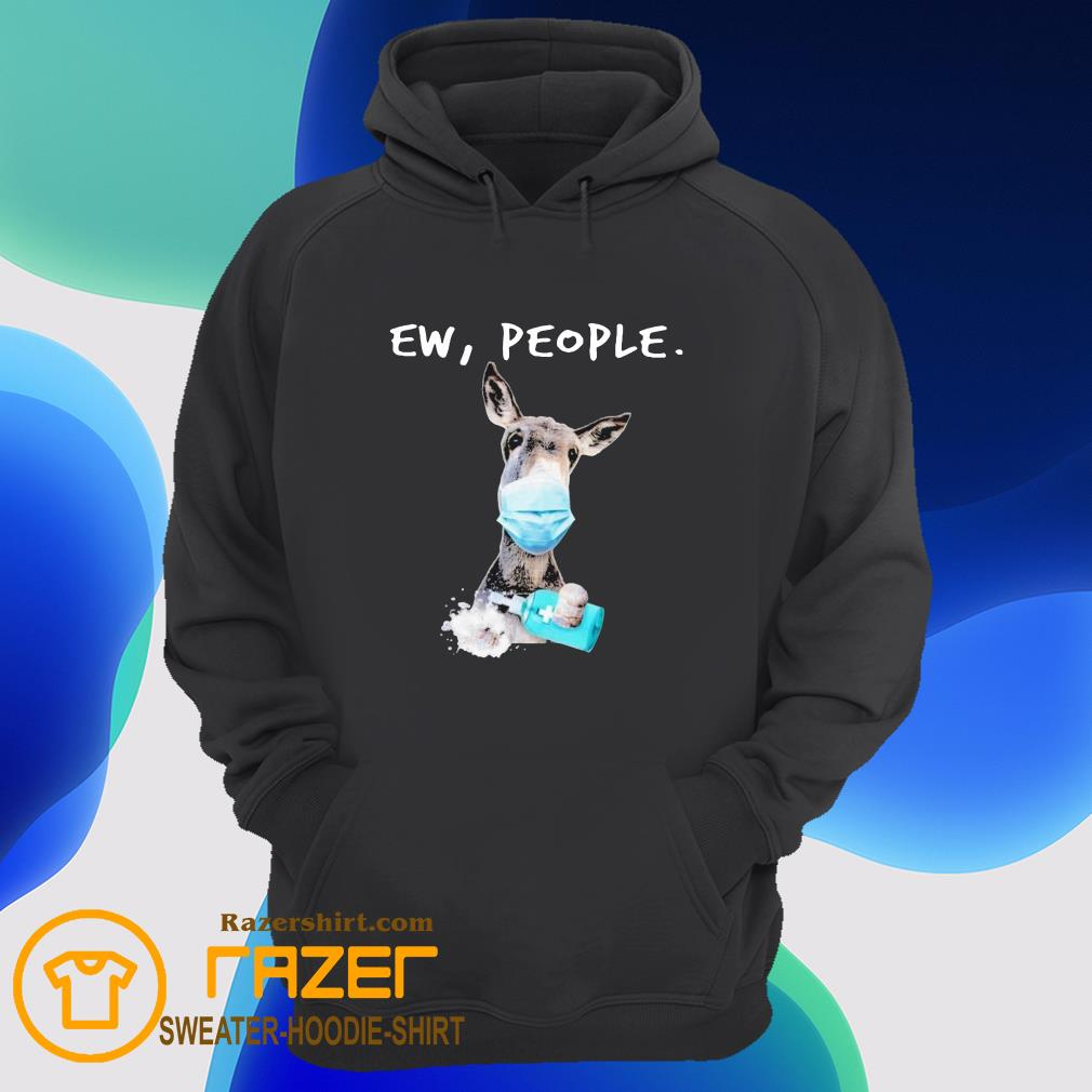 Donkey face mask Soap ew People Hoodie