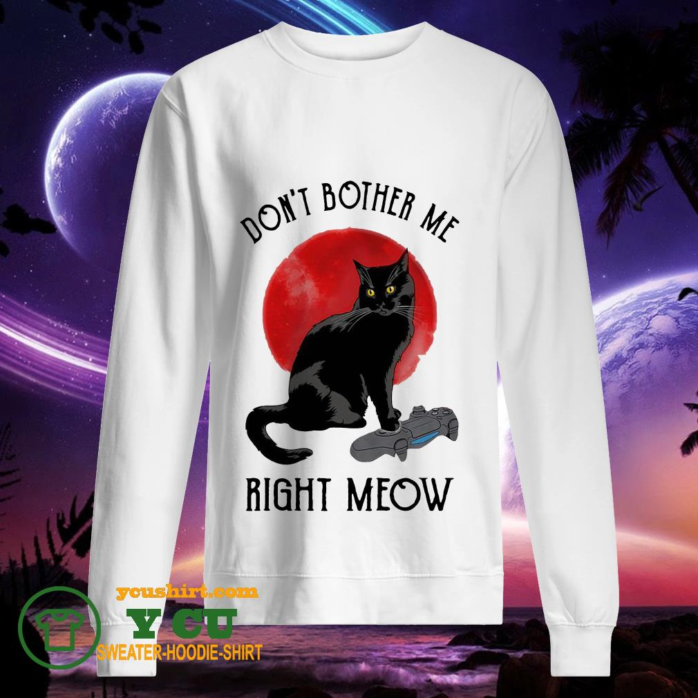 Don't bother me right meow sunset sweater