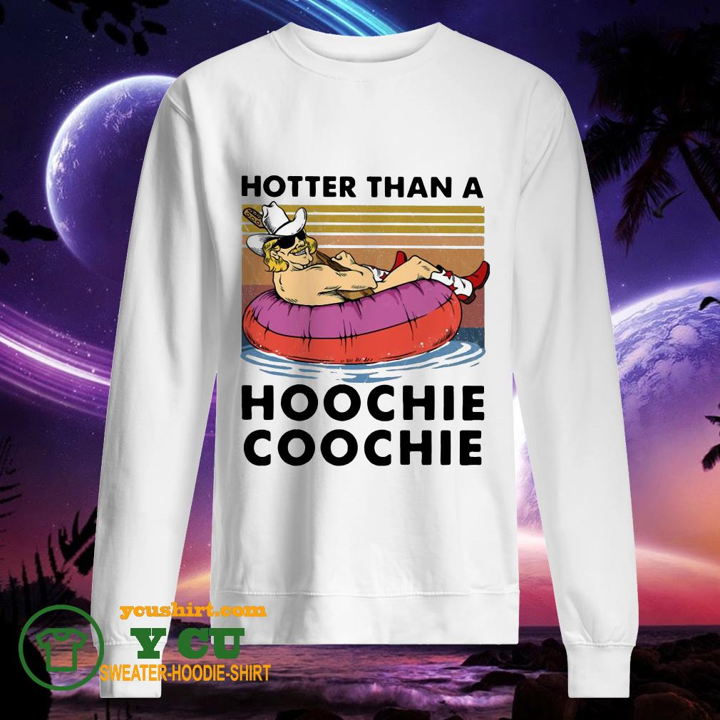 Hotter Than A Hoochie Coochie Vintage sweater