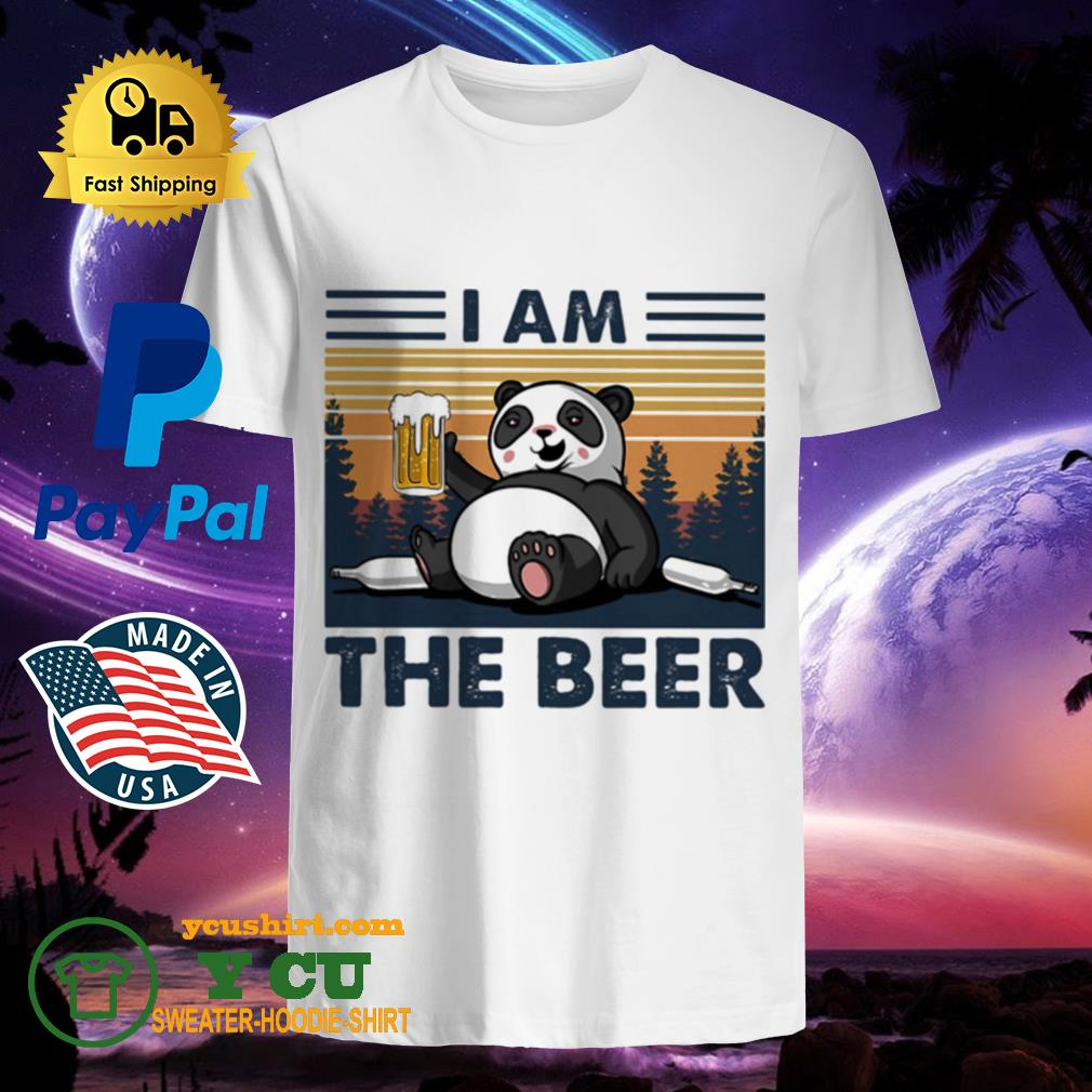 I Am The Beer Bear Vintage shirt