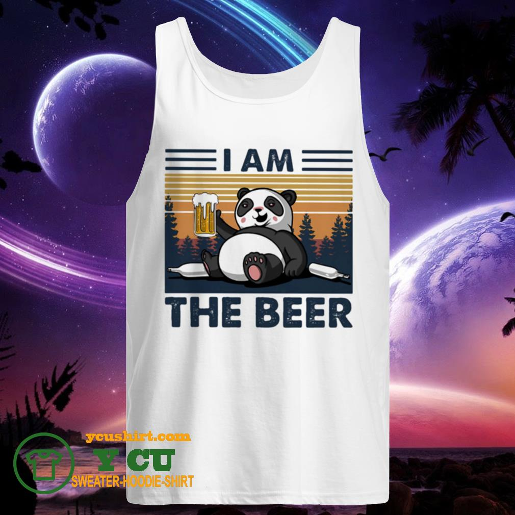 I Am The Beer Bear Vintage tank top