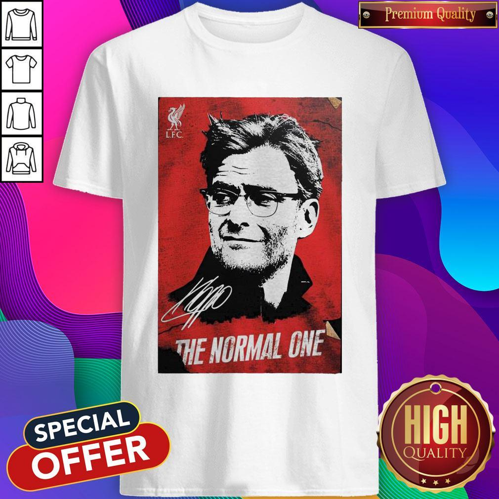 Jurgen Klopp The Normal One Legend Signature 2020 Shirt