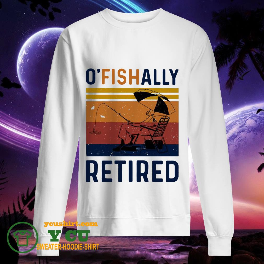 O' fish ally retired vintage sweater