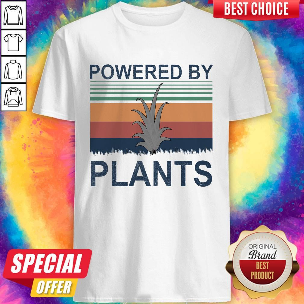 Pretty Powered By Plants Vintage Shirt
