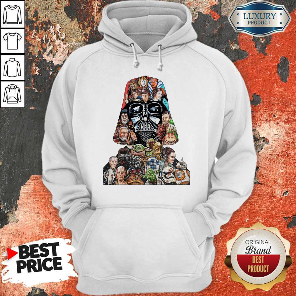 Star Wars Darth Vader And Characters Hoodie