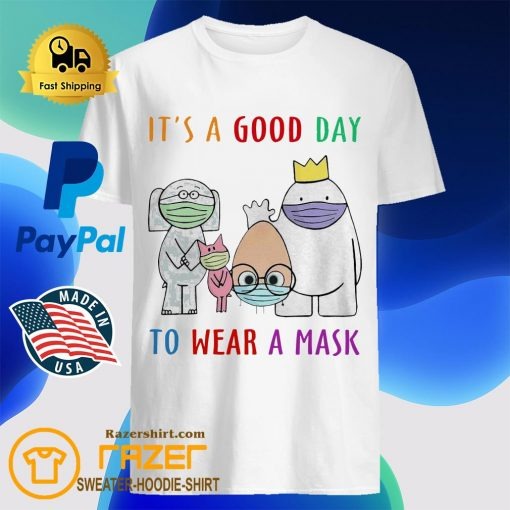 Cartoon Network It's a Good day to Wear a mask shirt