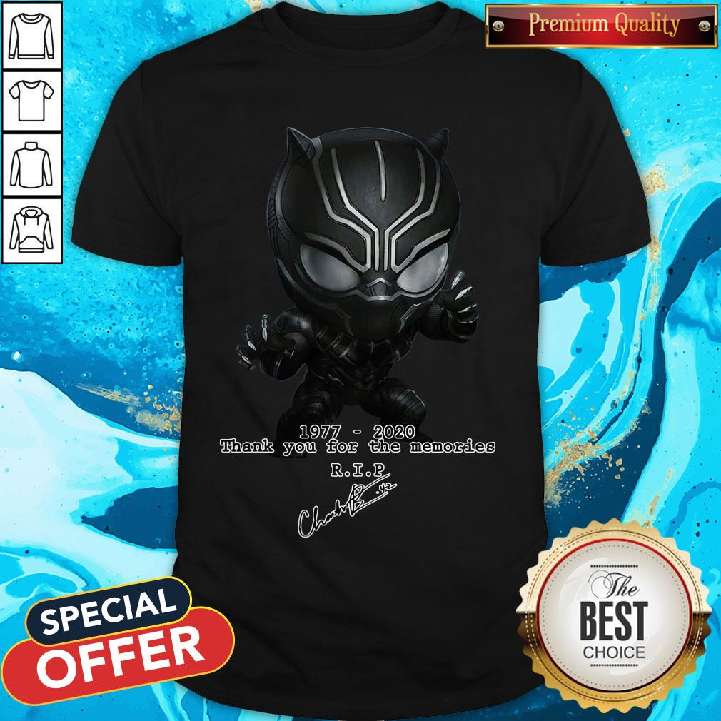 rip the king of wakanda we love you forever shirt