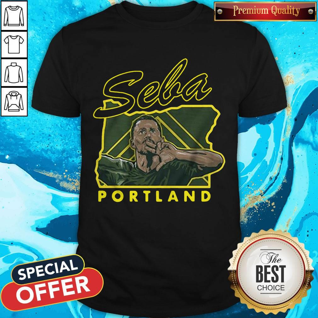 top portland blanco seba tee shirt